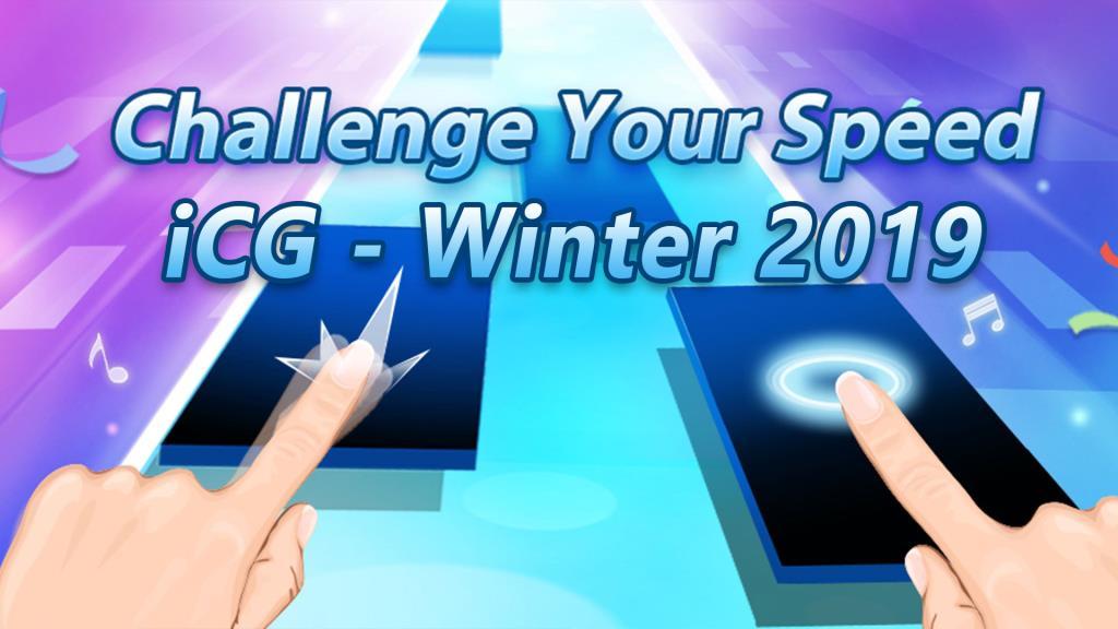 برگزاری رقابتهای Piano Tiles به عنوان رویداد جانبی مسابقات iCG-Winter2019