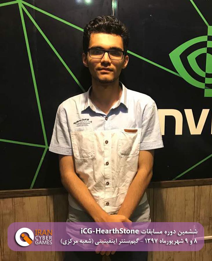 نفر چهارم ششمین دوره مسابقات iCG-HearthStone