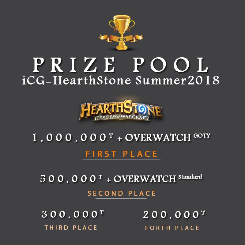 جوایز سری ششم مسابقات iCG-HearthStone